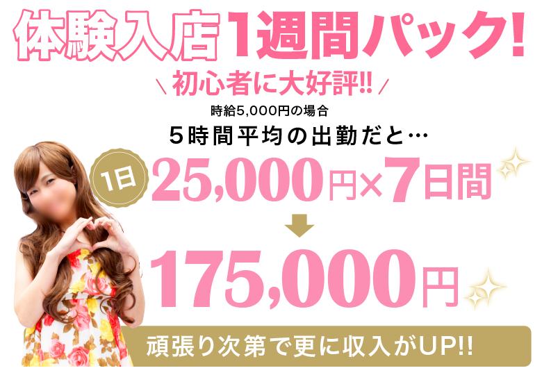 鹿児島で稼げるセクキャバ求人情報【SexyClub WITH YOU求人オフィシャル】体験入店一週間!パック